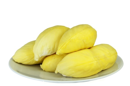 A durians isolated on white background  photo
