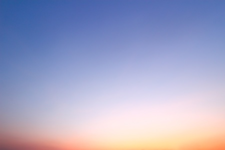 Sunset sky background  Stock Photo - 17726870