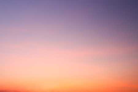 Sunset sky background  Stock Photo - 17726824