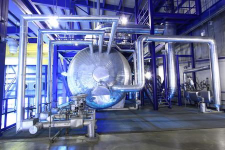 kunststoff rohr: Dampfkessel