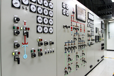 electrical energy: Control room