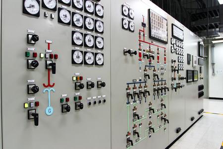 panel de control: Sala de control