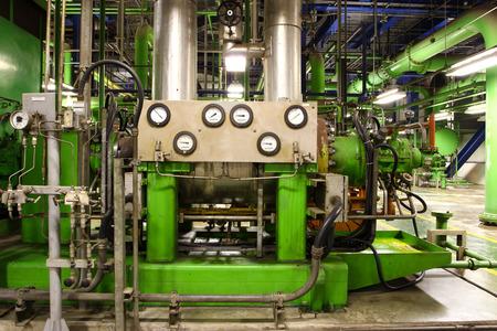 industrial motor pump Banque d'images