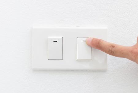 Switch on light