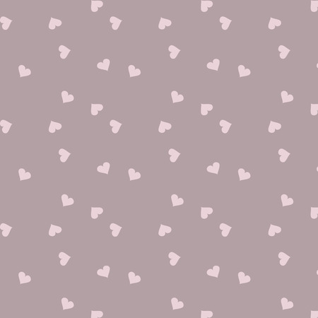 Seamless pattern with hearts. Vector