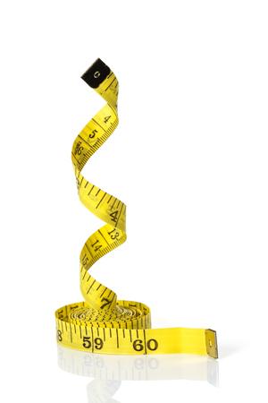 白地の測定テープ分離