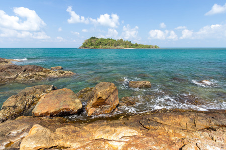 Island and sea. Summer background. Thailand photo