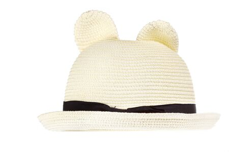ladys: ladys hat isolated on a white background