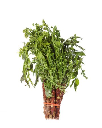 neem: Vegetables boiled neem leaves plenty to eat healthy stack.