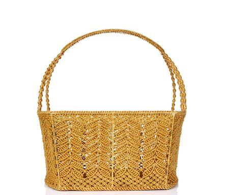 willow fruit basket: Empty wicker basket isolated on white Stock Photo