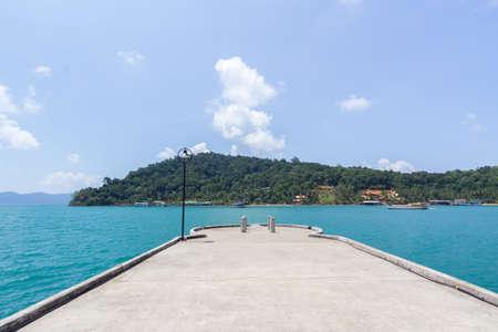 chang: Koh chang beach Thailand Stock Photo