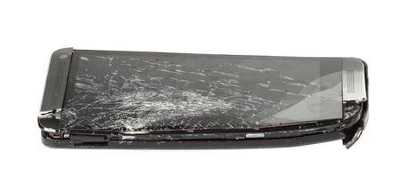 screen: Smartphone with broken screen