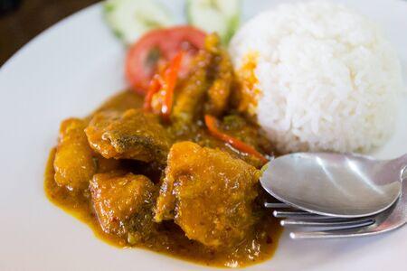 Deep – fried fish and chili sauce