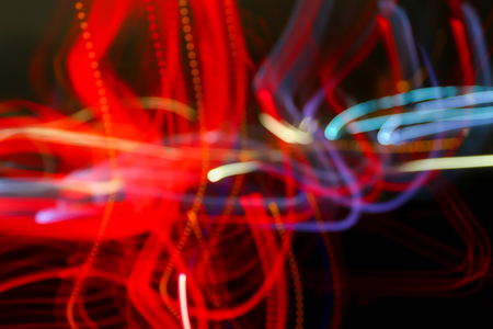 Abstract motion blur