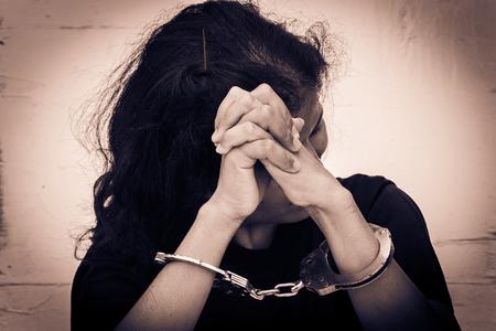 trafficking: Slave,Human Trafficking concept