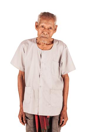 three year old: portrait of elder Eighty three year old