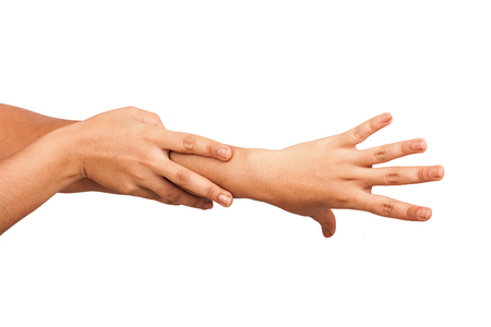 womans hands: Beautiful womans hands