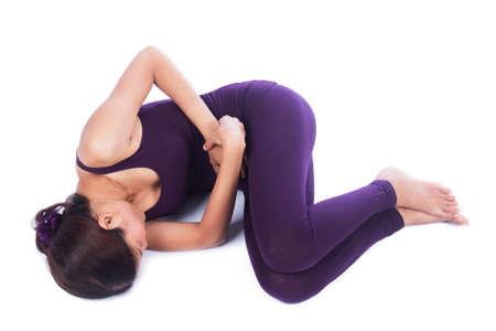 menstrual pain: Yound women menstrual pain Stock Photo