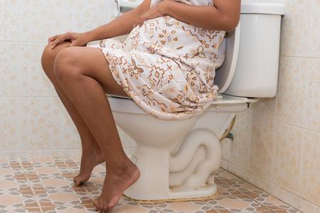 constipation symptom: Constipation in pregnant women