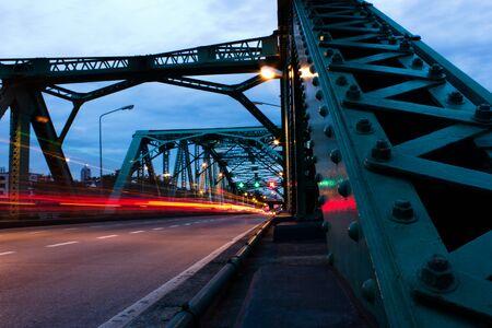 brige: sapanput bridge Bangkok Editorial