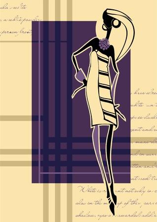 elation: Fashion illustration girl