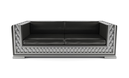luxurious sofa: Luxurious sofa isolated on white background