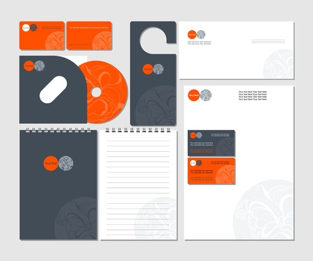 Corporate Template Vector  Vector