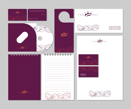 Business templates Stock Vector - 11538452