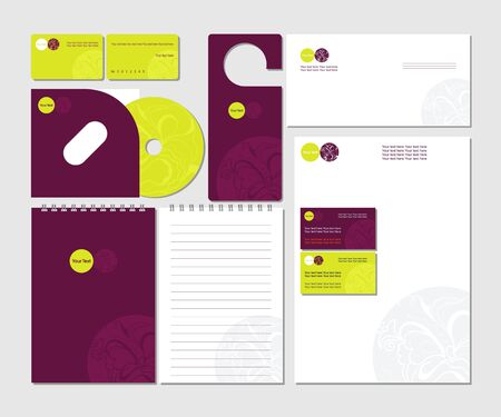 cd cover: Template for Business.
