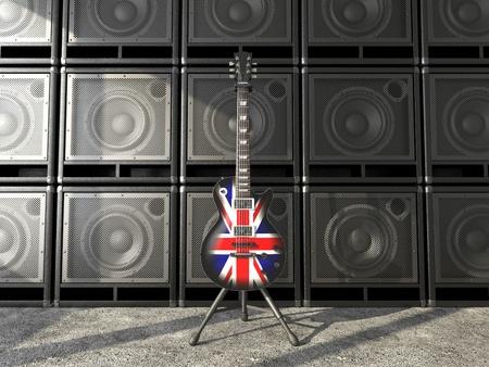 amp: Britain guitar