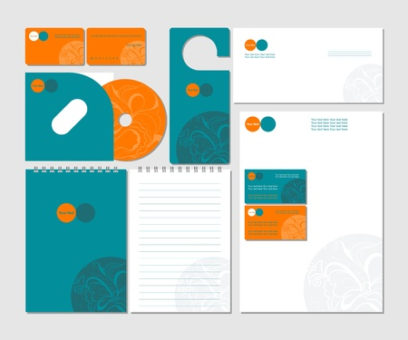 Business templates Illustration