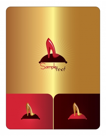 Woman s shoe  Icon Vector