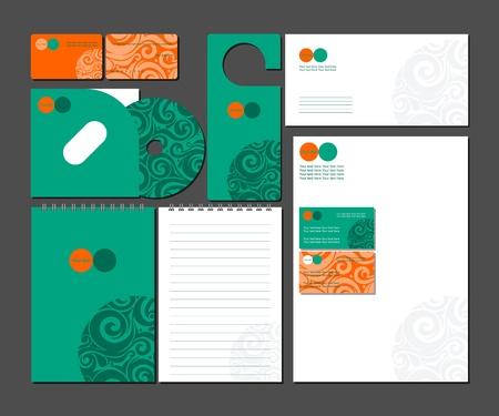 designer labels: Business style   Illustration