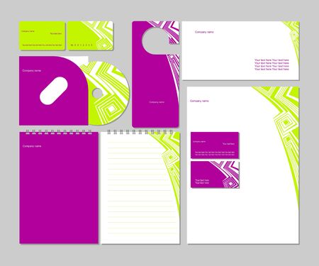 Business style_Vector corporate identity template