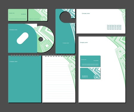 Business style templates Stock Vector - 13681547