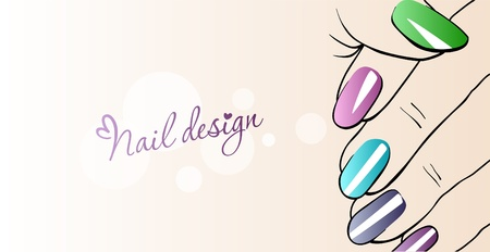 Fashion Nails_Illustration of nail design