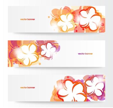 flecks: Flower Banner Set