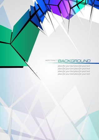 Abstract background for design Stock Vector - 13681627