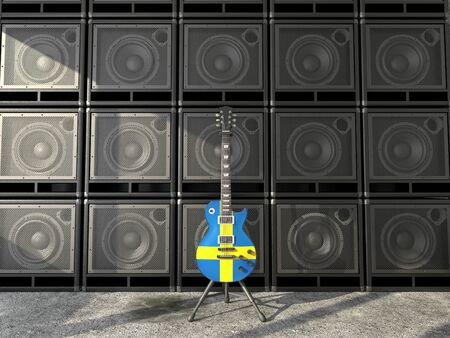 Sweden guitar  photo