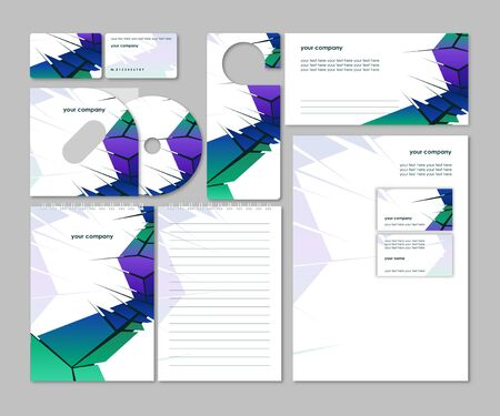 Business style template_Vector illustration   Vector