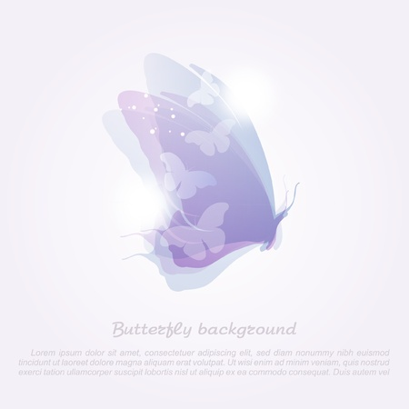 swill: Abstract butterfly_Vector background