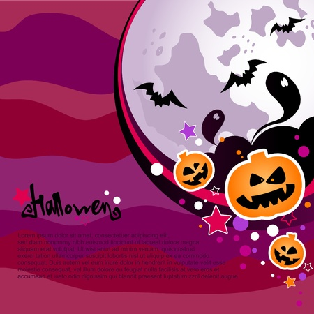 Halloween background  Stock Vector - 15632144