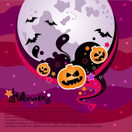 Halloween background Stock Vector - 15441929