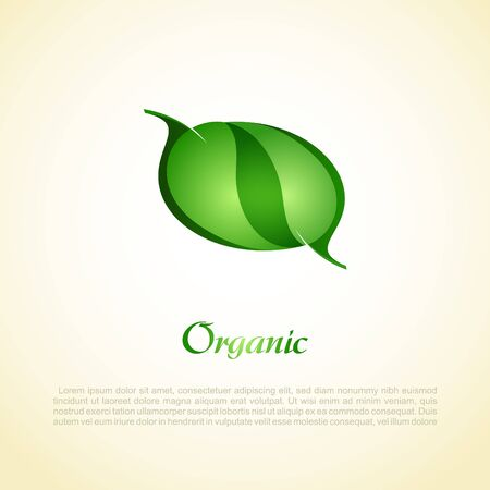 one color: Vector Natural Design_Vector green leaves  Illustration