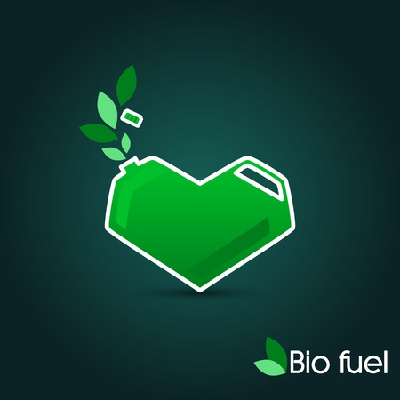octane: Canister with BIO fuel_Alternative energy