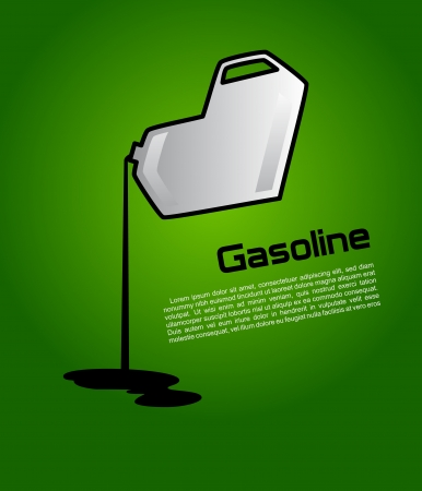 motor oil: Gasoline cans in the form of heart
