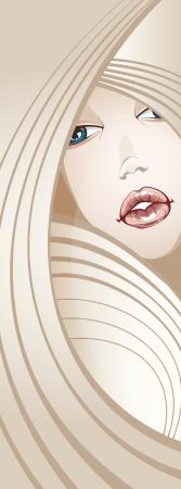Beautiful Blonde Girl_long hair_Banner