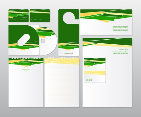 corporate design for business  Stock Vector - 18027007