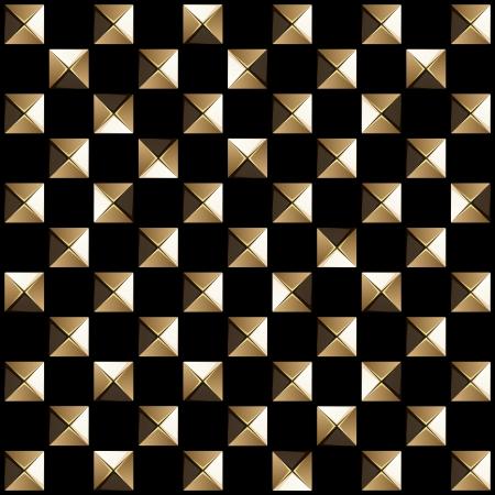 A besetzt steel_This Fliesen nahtlos als ein Muster in eine beliebige Richtung Vektorgrafik