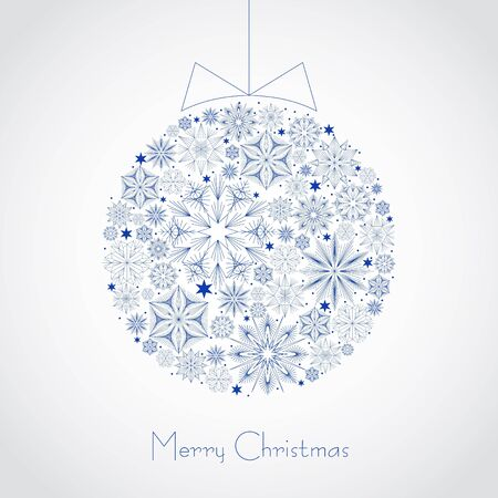 Christmas ball illustration Stock Vector - 16843227